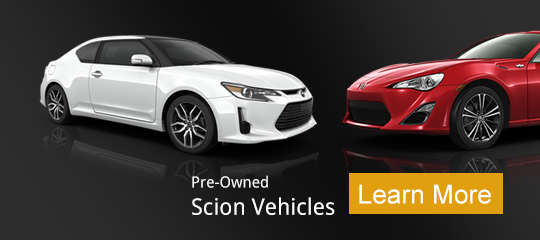 Pre-Owned Scion Vehicles