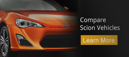 Compare Scion Vehicles