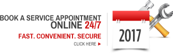 Book a service appointment online 24/7 Fast. Convenient. Secure