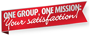One Group, One Mission: Your Satisfaction!