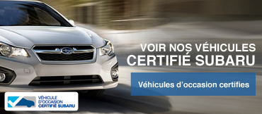 See our certified pre-owned Subaru's