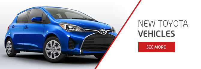 New Toyota Vehicles