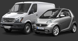 New smart and Sprinter